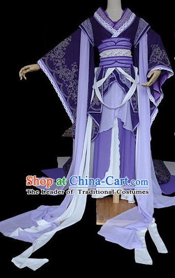 Chinese Hanfu Hakama Traditional Princess Dress Quju Supreme Chinese Costume Ancient Chinese Costume Complete Set