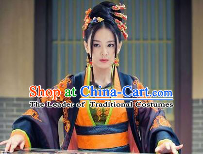 Chinese Ancient Phoenix Crown Hair Decoration Head Comb Wedding Hair Hairpin Accessories