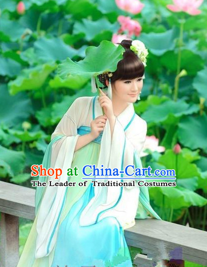 Ancient Chinese Women Dresses White Hanfu Girls China Classical Clothing Histroical Dress Traditional National Costume Complete Set