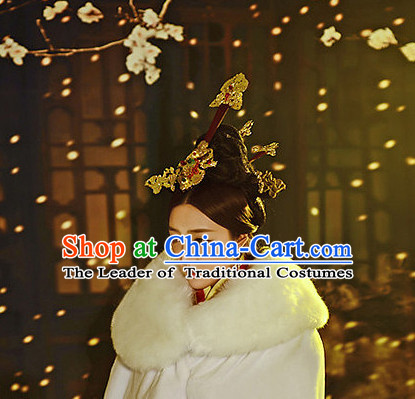 Ancient Chinese Princess Hair Accessories Headpiece Headdress