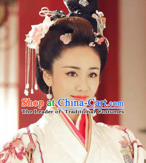 Chinese Handmade Hair Jewelry Decorations Headpieces Hair Pins for Women