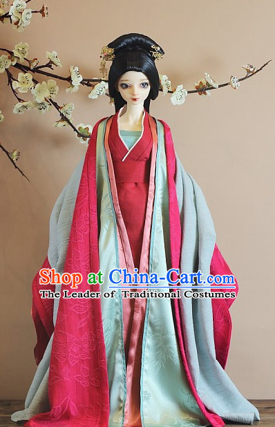 Ancient Chinese Empress Costumes Imperial Clothing Traditional Costumes Hanfu Complete Set