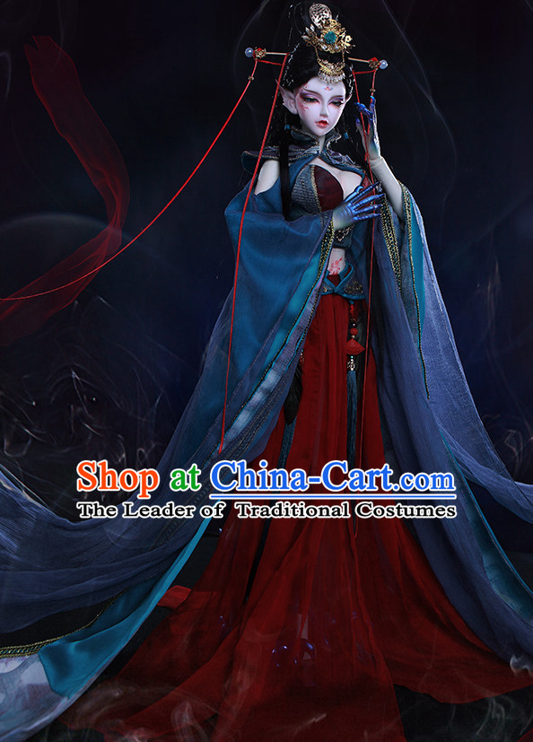 Ancient Chinese Fairy Costumes Clothing Traditional Costumes Hanfu Complete Set