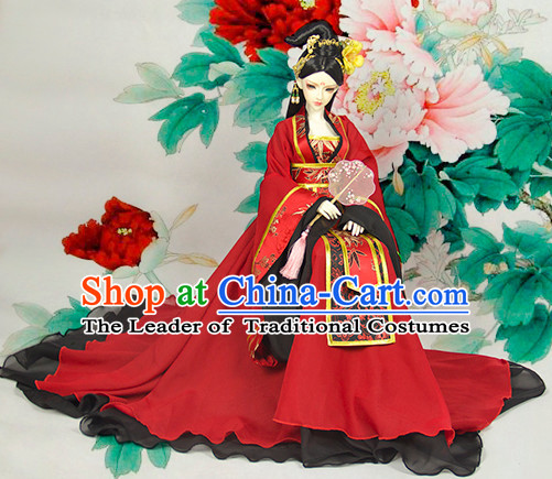 Women Empress Dress Palace Stage Performance Dresses Traditional Chinese Mandarin Clothing Hanfu Costume