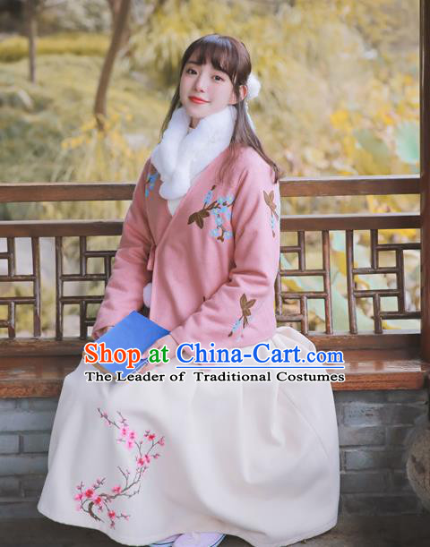 Traditional Classic Women Clothing, Traditional Classic Chinese Restoring Ancient Woolen Pleated Skirt, Wool Skirt for Women