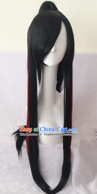 Traditional Chinese Ancient Jewelry Accessories, Ancient Chinese Imperial Wigs for Men