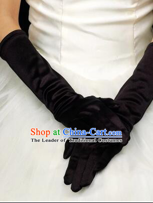 Long Style Glove for Brede Wedding Play Stage Show Gloves