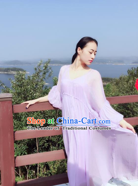 Traditional Classic Women Clothing, Traditional Classic Chiffon Even Dress Restoring Garment Skirt Braces Skirt
