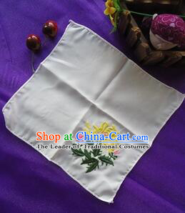 Chinese Traditional Style Handkerchief Embroidery Towel