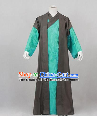 Traditional Ancient Chinese Swordsman Costume, Asian Chinese Ming Dynasty Kawaler Clothing for Men