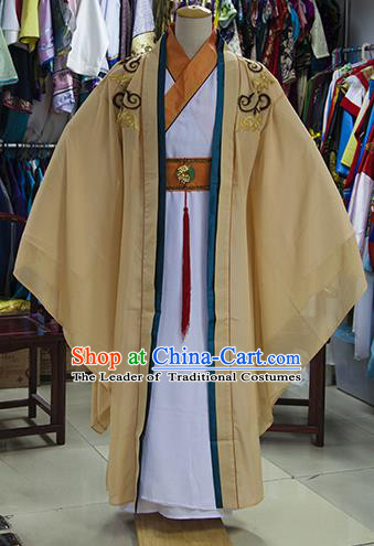 Traditional Ancient Chinese Swordsman Prince Costume, Asian Chinese Tang Dynasty Nobility Childe Clothing for Men