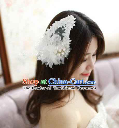 Traditional Korean Hair Accessories Flowers Hair Stick, Asian Korean Hanbok Fashion Bride Headwear for Women