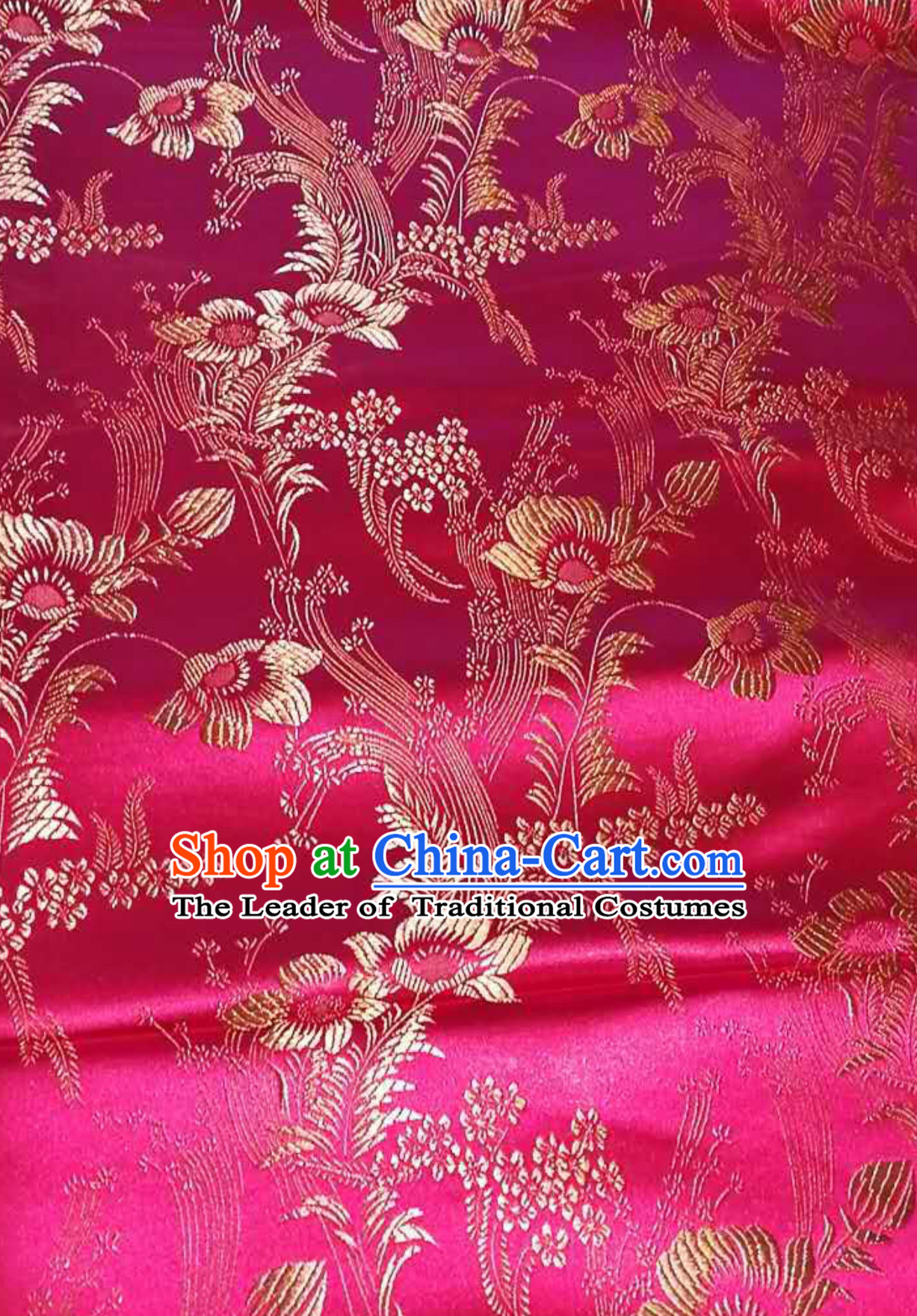 Asian Chinese Royal Palace Style Traditional Pattern Design Brocade Fabric Silk Fabric Chinese Fabric Asian Material
