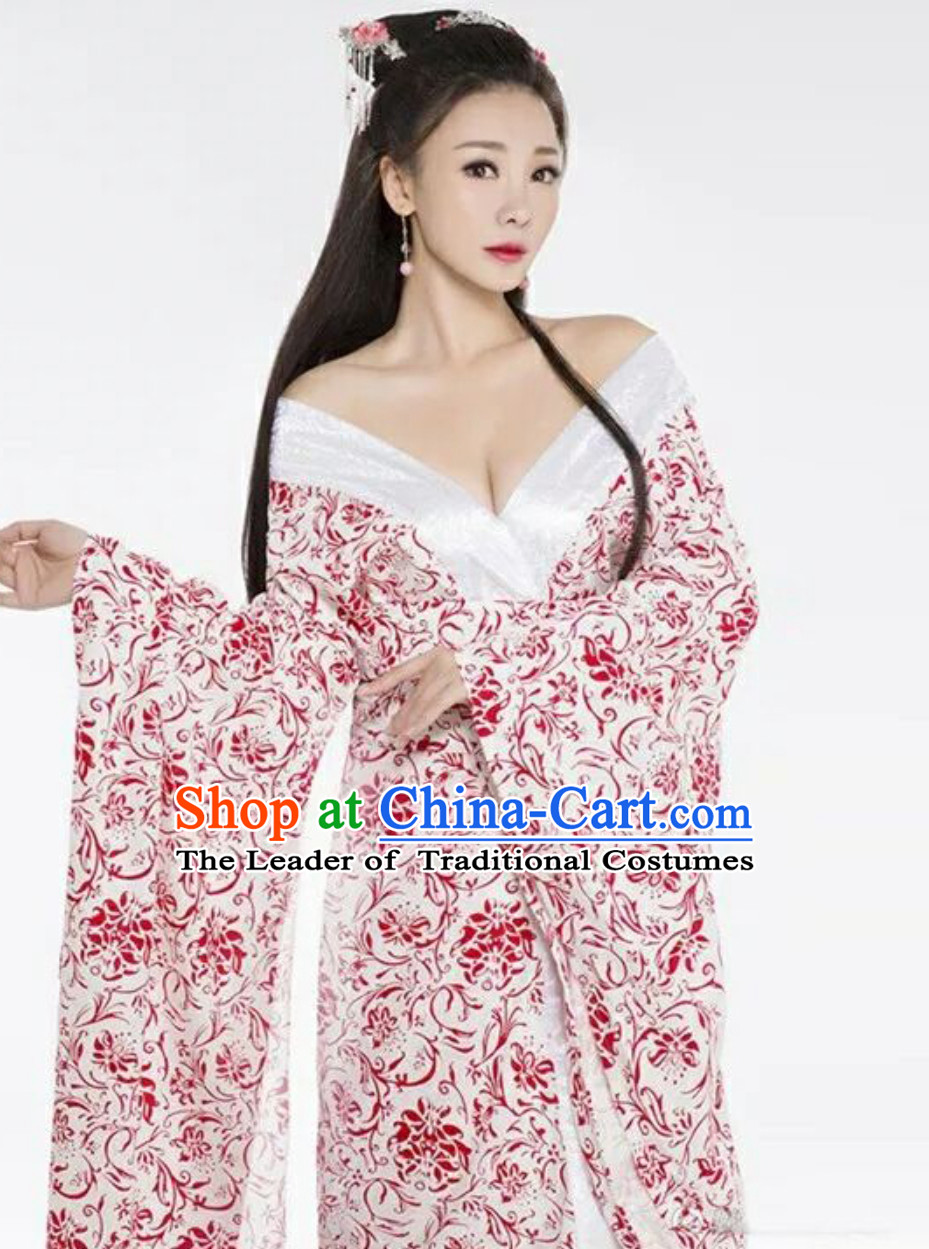 Ancient Chinese Beauty Swordsman Knight Hanfu Clothing