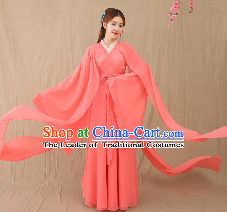 Traditional Chinese Ancient Palace Princess Fairy Hanfu Clothing for Women