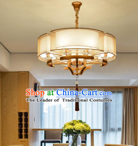 Traditional Chinese Handmade Sheepskin Palace Lantern China Ceiling Palace Lamp