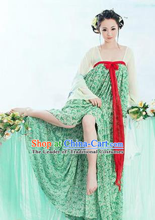 Traditional Ancient Chinese Imperial Consort Costume, Elegant Hanfu Clothing Chinese Han Dynasty Imperial Emperess Camellia Clothing for Women
