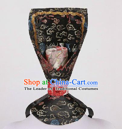 Traditional Chinese Han Dynasty Imperial Emperor Crown Hat for Men