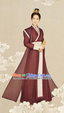 Traditional Ancient Chinese Male Costume, Chinese Han Dynasty Swordsman Dress, Cosplay Chinese Swordsman Clothing for Men