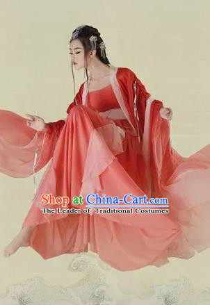 Traditional Ancient Chinese Imperial Consort Costume, Chinese Tang Dynasty Kimono Dress, Cosplay Chinese Imperial Princess Clothing for Women