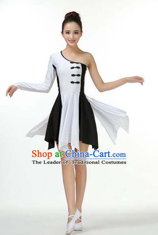 Traditional Modern Dancing Costume, Opening Classic Chorus Singing Group Dance Big Swing Dress, Modern Dance Classic Ballet Dance Latin Dance Dress for Women