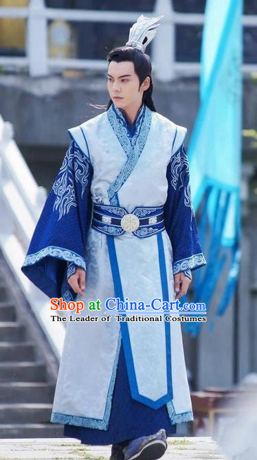 Traditional Ancient Chinese Imperial Prince Costume, Chinese Western Wei Dynasty Nobility Childe Dress, Chinese Drunk Exquisite Dandies Robes, Ancient China Imperial Prince Clothing for Men
