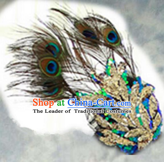 Top Grade Halloween Feather Mask for Girls Kids