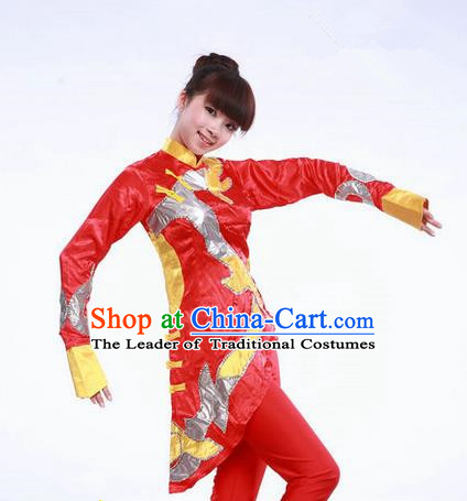 High-quality Dancewear Costumes for Jazz, Folk Dance Costume, Jazz Dancing Cloth for Women