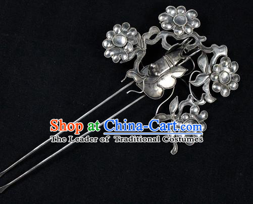 Traditional Handmade Chinese Ancient Classical Hair Accessories Barrettes Bride Step Shake, Wedding Hair Sticks Hair Jewellery Hairpins for Women