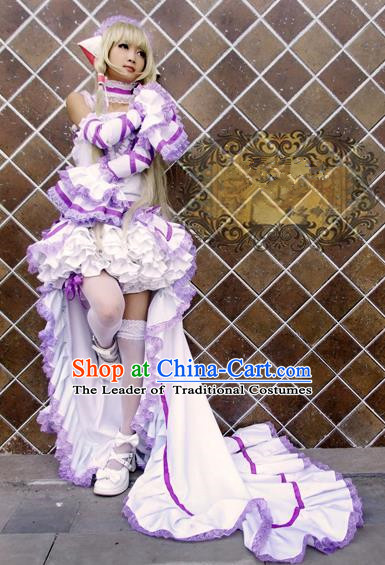 Top Grade Traditional China Cosplay Costumes, China Ancient Young Lady Full Dress for Women