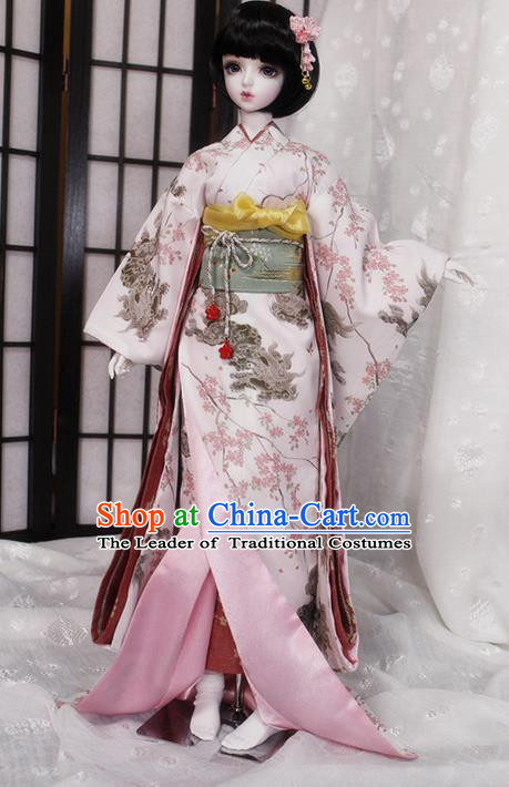 GEISHA Costume Japanese Kimono Dress Oriental Japan Asian Adult Women Ladies