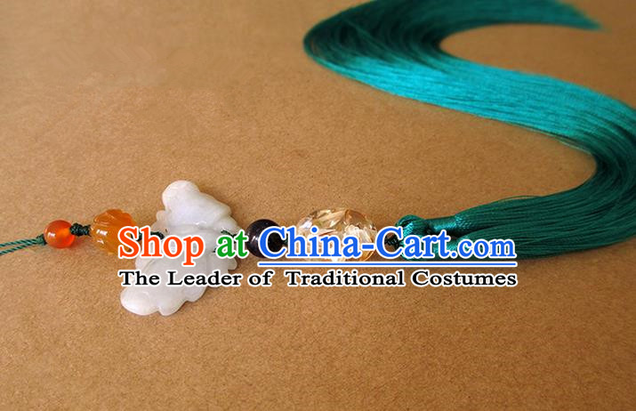 Chinese Ancient Handmade Waist Accessories, Traditional Chinese Ancient Swordsman Hanfu Jade Pendant