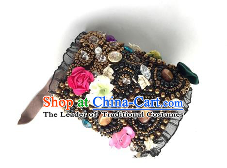 Top Grade Asian China Wristlet, Chinese Princess Handmade Beads Bracelet for Women