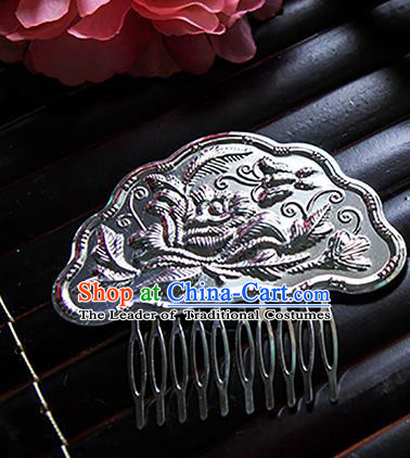 Top Grade Handmade Traditional China Hair Accessories Hair Comb, Ancient Chinese Hanfu Hairpins for Women