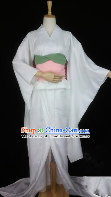 Asian Chinese Traditional Cospaly Tang Dynasty Oiran Kimono Costume, China Elegant Hanfu Palace Dress Clothing for Women