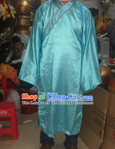 World Lion Dance Competition Monk Frock Costume Lion Dance Adult Size Monk Robes