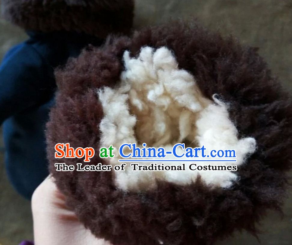 Traditional Chinese Classical Style Handmade Gloves