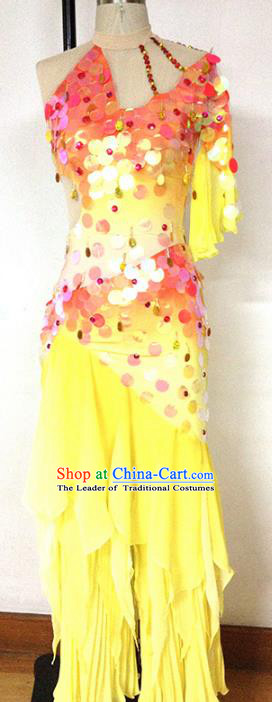 Traditional Chinese Fish Dancing Costume, Chinese Classical Folk Dance Clothing for Women