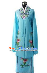 Traditional Chinese Peking Opera Hua Tan Costume Embroidered Dress, China Ancient Beijing Opera Diva Clothing for Women