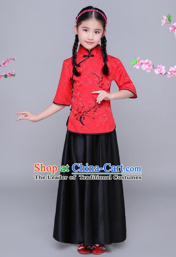 935a9b13234afa Chinese Traditional Mandarin Qipao CheongSam Cheong Sam Blouse Dress ...