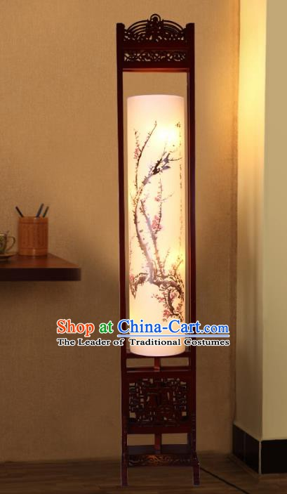 Traditional Chinese Handmade Sheepskin Lantern Classical Palace Lantern China Floor Palace Lamp