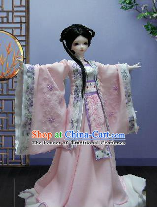 Traditional Chinese Tang Dynasty Nobility Lady Costume Princess Embroidered Hanfu Clothing for Women