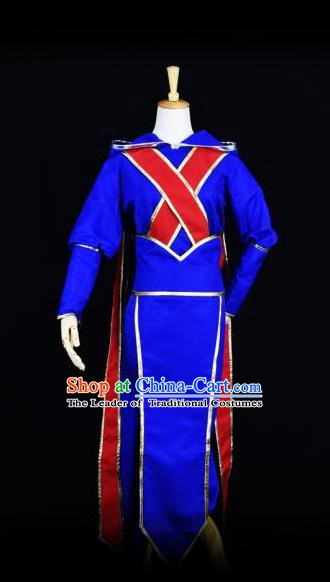 Traditional Chinese Cosplay Ancient Swordsman Kawaler Costume for Men