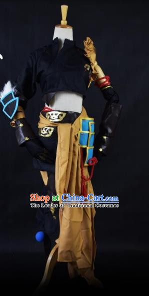 Traditional Chinese Ancient Cosplay Swordsman Clothing for Women