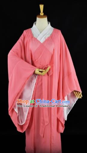Traditional Chinese Ancient Palace Lady Costume, China Tang Dynasty Princess Dress Clothing for Women