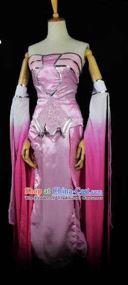Traditional Chinese Ancient Cosplay Princess Costume Tang Dynasty Palace Lady Dress Clothing for Women