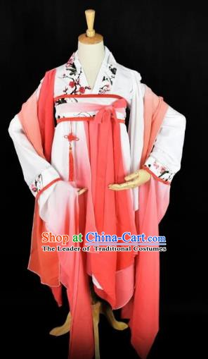 Traditional Chinese Ancient Palace Lady Hanfu Costume Tang Dynasty Swordswoman Clothing for Women