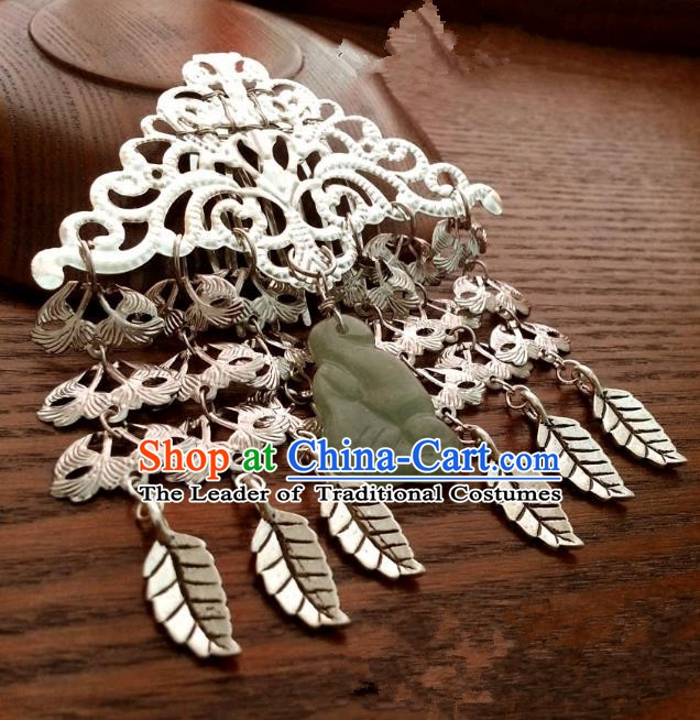 Handmade Traditional Chinese Classical Hair Accessories Ancient Hanfu Hairpins Tassel Hair Fascinators for Women