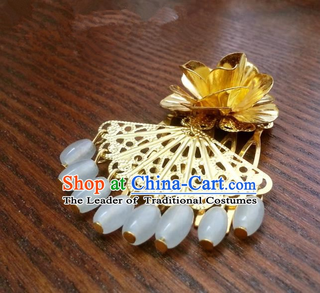 Traditional Handmade Chinese Classical Hair Accessories Hair Clip Ancient Princess Hairpins for Women