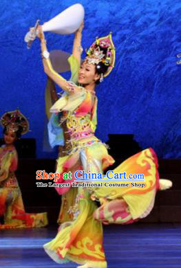 Chinese Traditional Classical Dance Costume Flying Apsara Dance Dress for Women